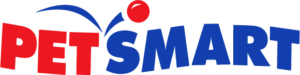 Blue and Red PetSmart Logo